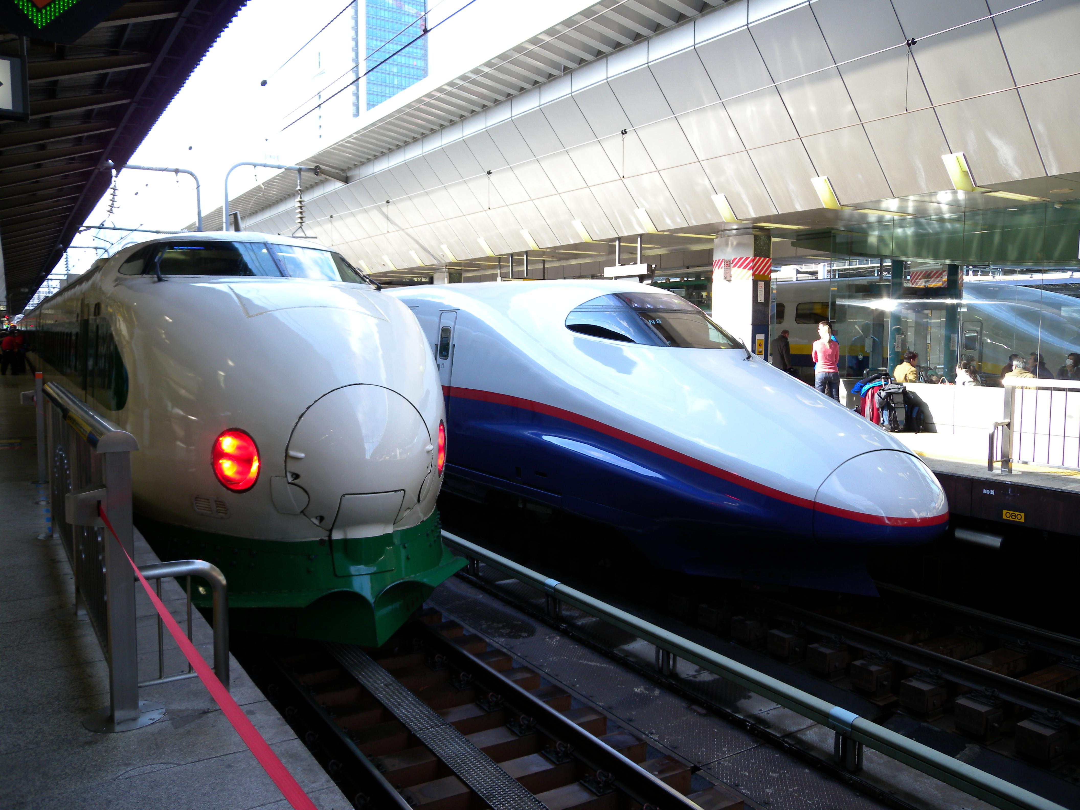 bullet train tohoku shinkansen